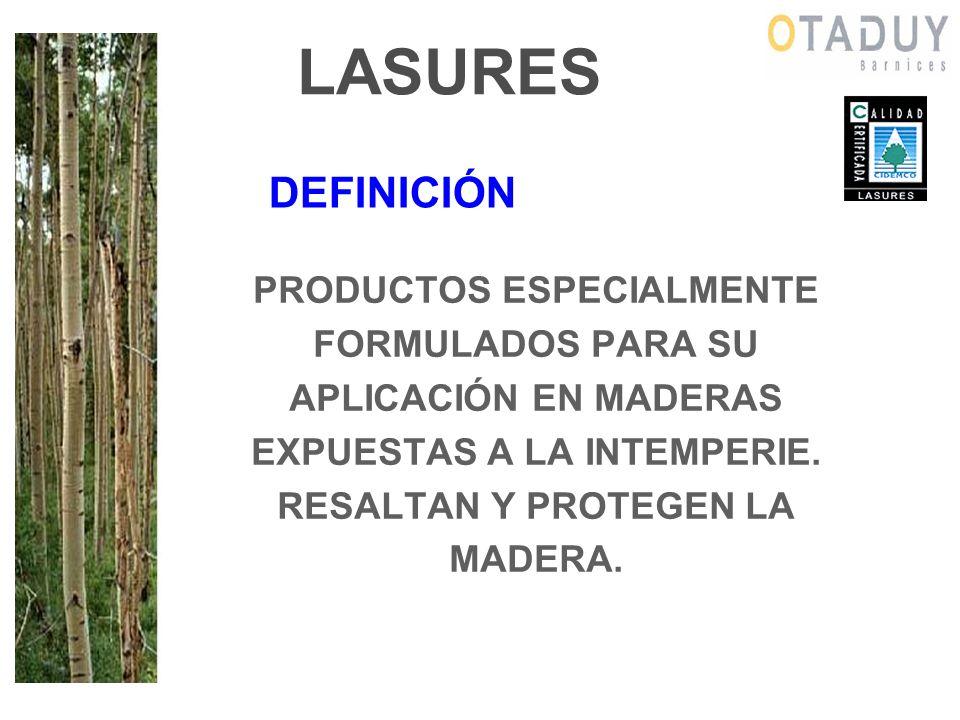 FACTORES QUE DEGRADAN LA MADERA HUMEDAD La madera tiende a equilibrar su contenido en agua con el del ambiente.