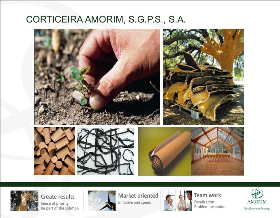 CORTICEIRA AMORIM, S.G.P.S., S.A.