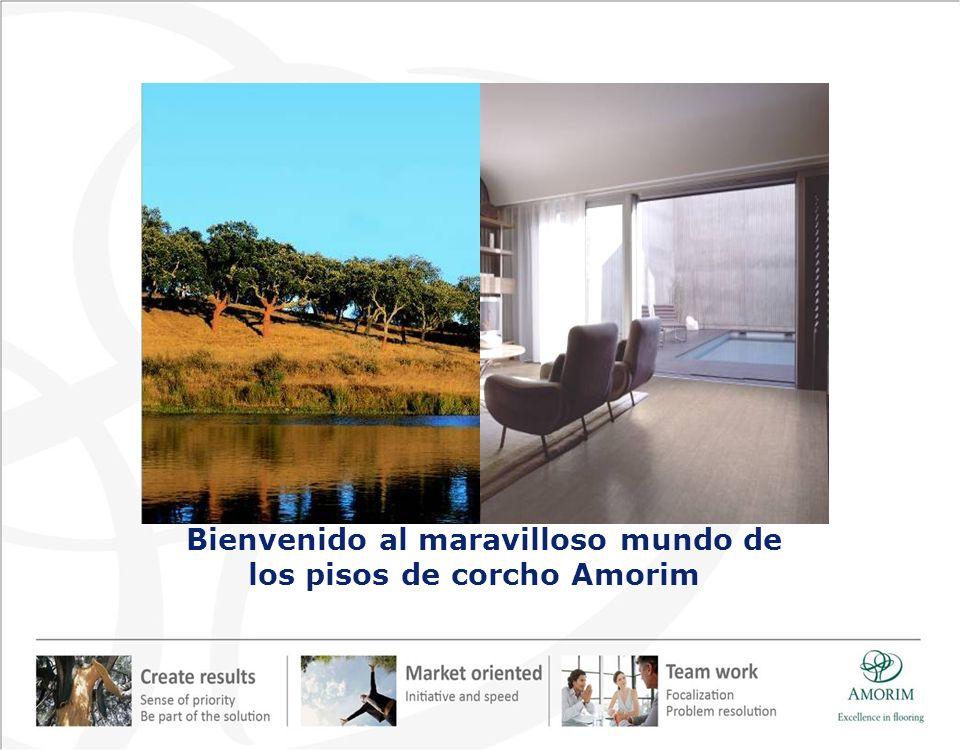 Amorim Revestimentos hacia el Desarrollo Sostenible Los suelos de corcho Amorim representan un equilibrio único entre la creación de riqueza y la protección del medio ambiente.