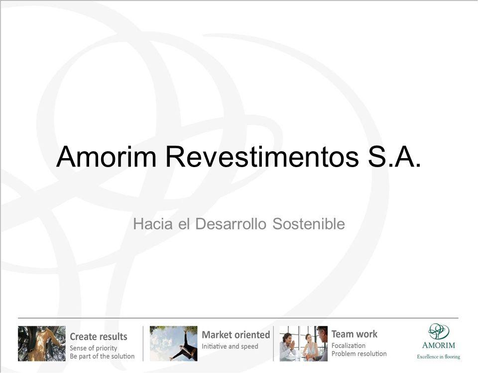 Amorim Revestimentos S.A. Hacia el Desarrollo Sostenible