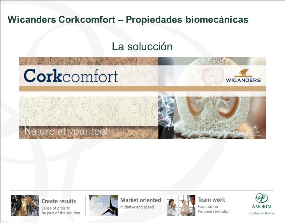 La solucción Wicanders Corkcomfort – Propiedades biomecánicas