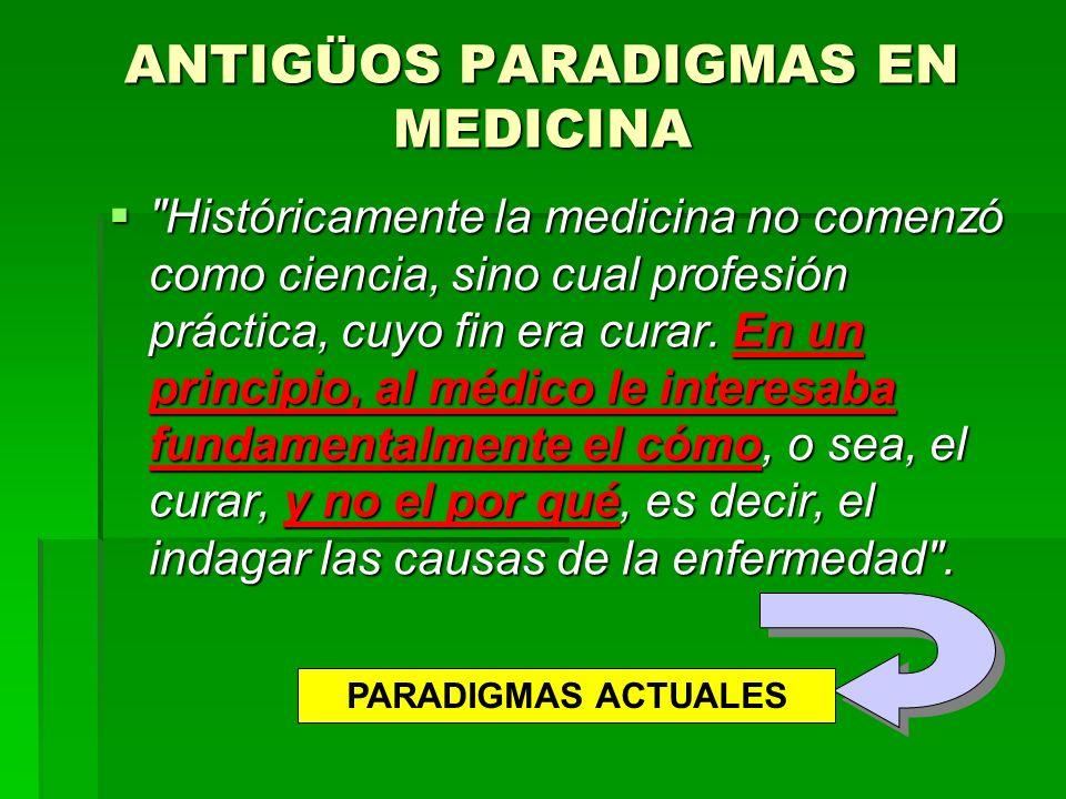 SIN EMBARGO… SIN EMBARGO… Algunos autores consideran que es muy pretencioso considerar la MBE como un nuevo paradigma para la ciencia médica Algunos autores consideran que es muy pretencioso considerar la MBE como un nuevo paradigma para la ciencia médica