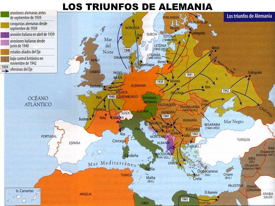 LOS TRIUNFOS DE ALEMANIA