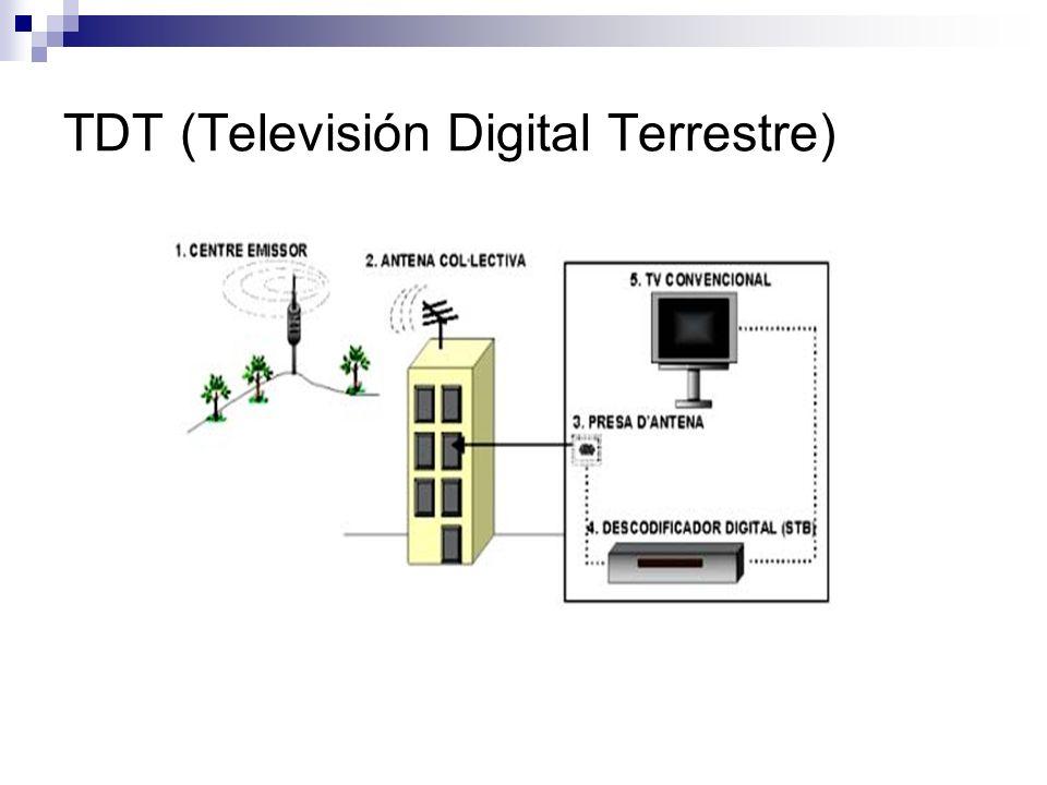 DVB-H (Televisión Digital Terrestre de mano) Ha sido diseñado especialmente para la distribución de contenidos audiovisuales en móviles.