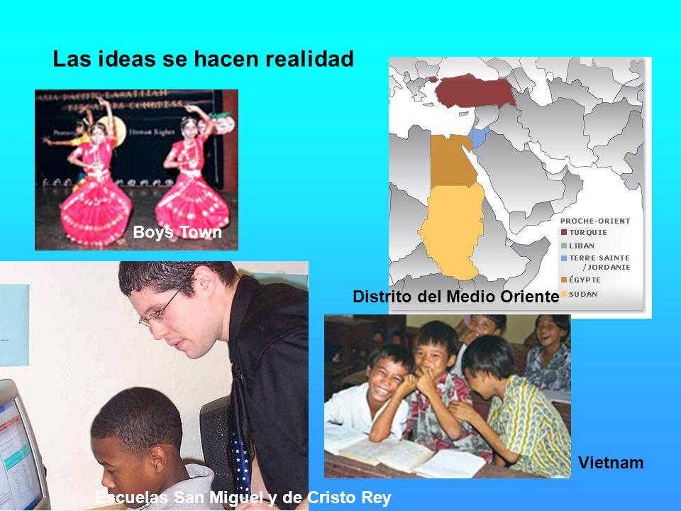Vietnam Las ideas se hacen realidad Boys Town Distrito del Medio Oriente Escuelas San Miguel y de Cristo Rey