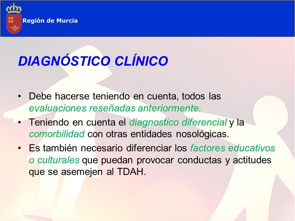 Diagnóstico Diferencial Trastornos médicos 1.