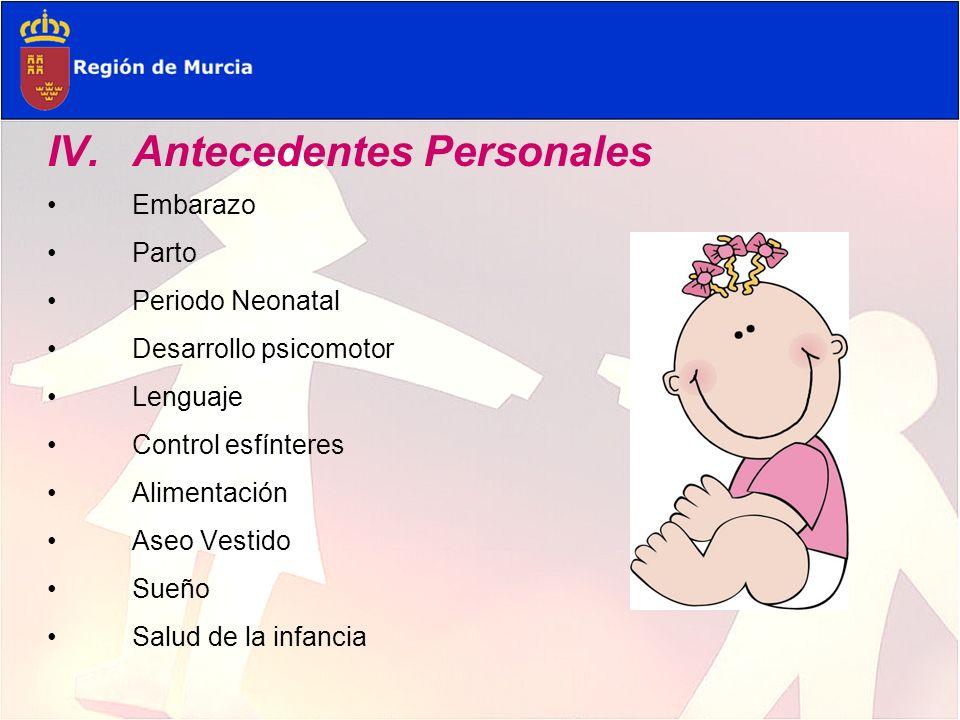Embarazo: hiperemesis gravídica en primer trimestre, tabaco (2-3 cigarrillos al día) Parto: 39 semanas.