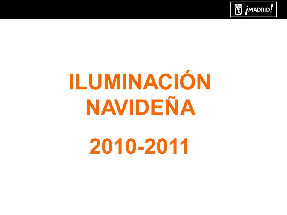 ILUMINACIÓN NAVIDEÑA 2010-2011