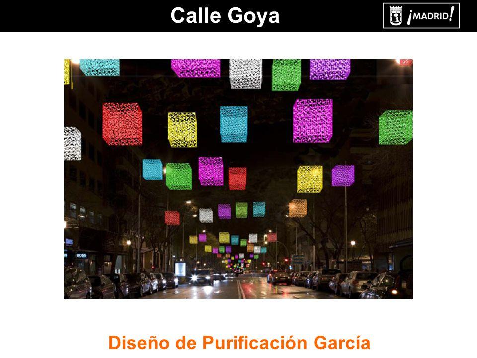 Calle Goya Diseño de Purificación García