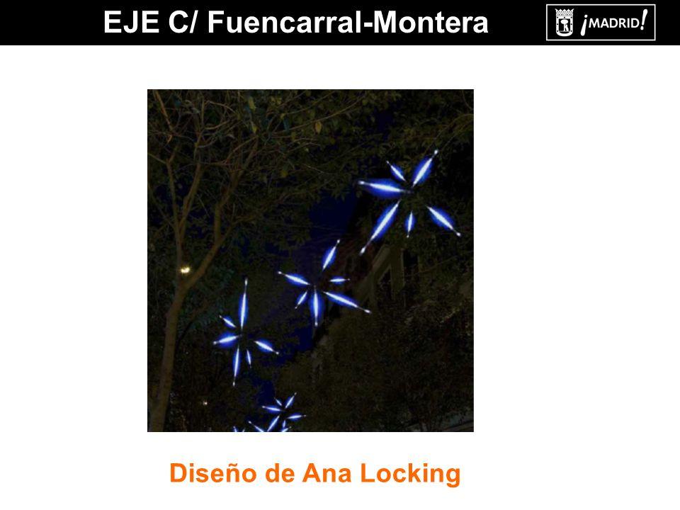 EJE C/ Fuencarral-Montera Diseño de Ana Locking