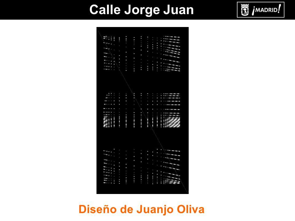 Calle Jorge Juan Diseño de Juanjo Oliva