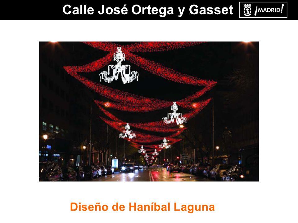 Calle José Ortega y Gasset Diseño de Haníbal Laguna