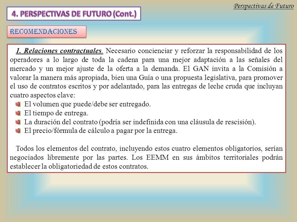 1. Relaciones contractuales.