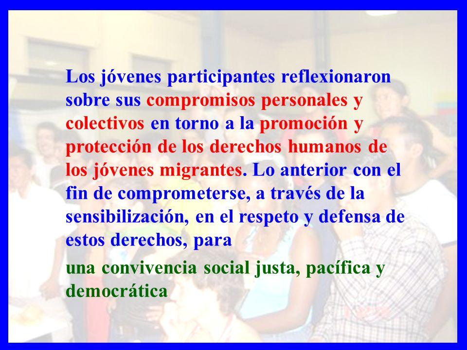 Chile, integraba jóvenes cuyas familias se habían exiliado en época de la Dictadura y jóvenes de otros países Latinoamericanos que habían migrado al país.