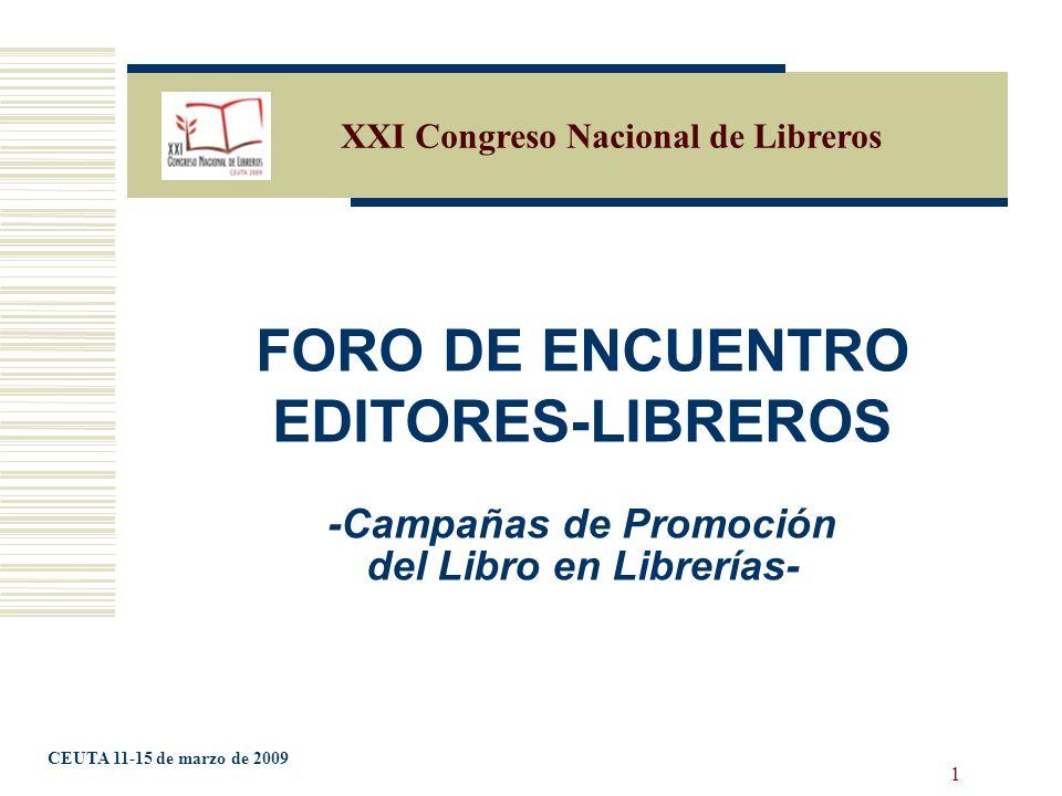 2 ÍNDICE 1.ANTECEDENTES 2. FORO DE ENCUENTRO EDITORES-LIBREROS 3.
