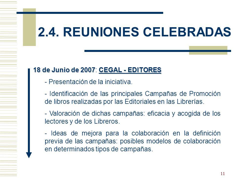 12 4 de Noviembre de 2008CEGAL – EDITORES - LIBREROS 4 de Noviembre de 2008: CEGAL – EDITORES - LIBREROS - Presentación del Foro de Encuentro Editores-Libreros: objetivos y líneas de trabajo.
