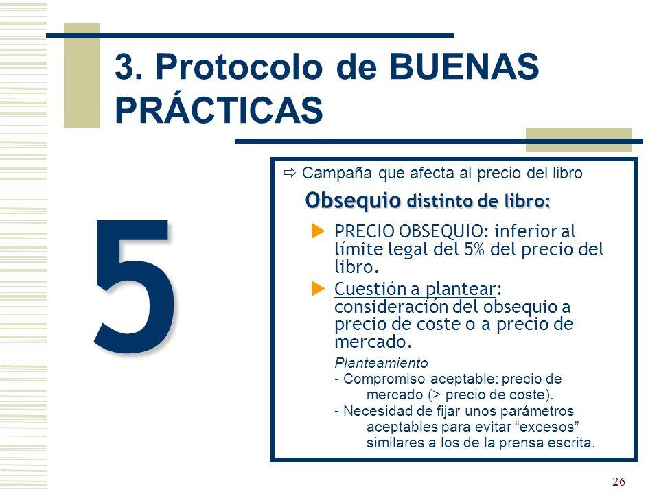 27 3. Protocolo de BUENAS PRÁCTICAS OBJETIVO ÚLTIMO: COMPROMISO entre CEGAL y la FGEE