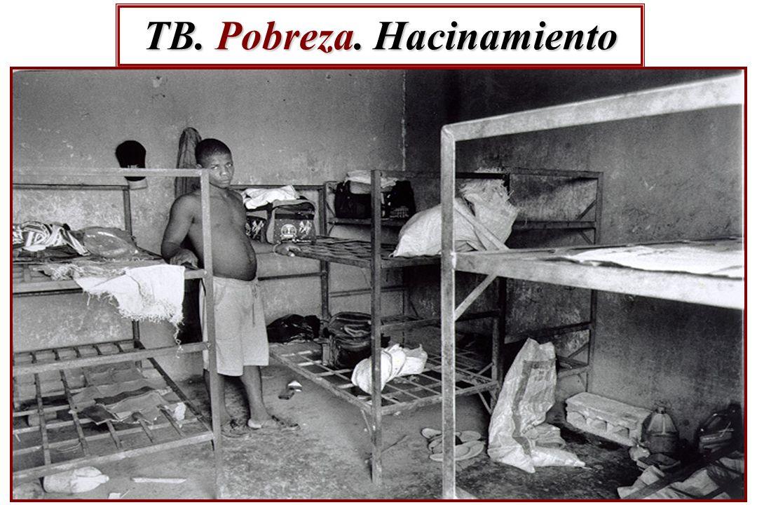 TB. Pobreza. Hacinamiento