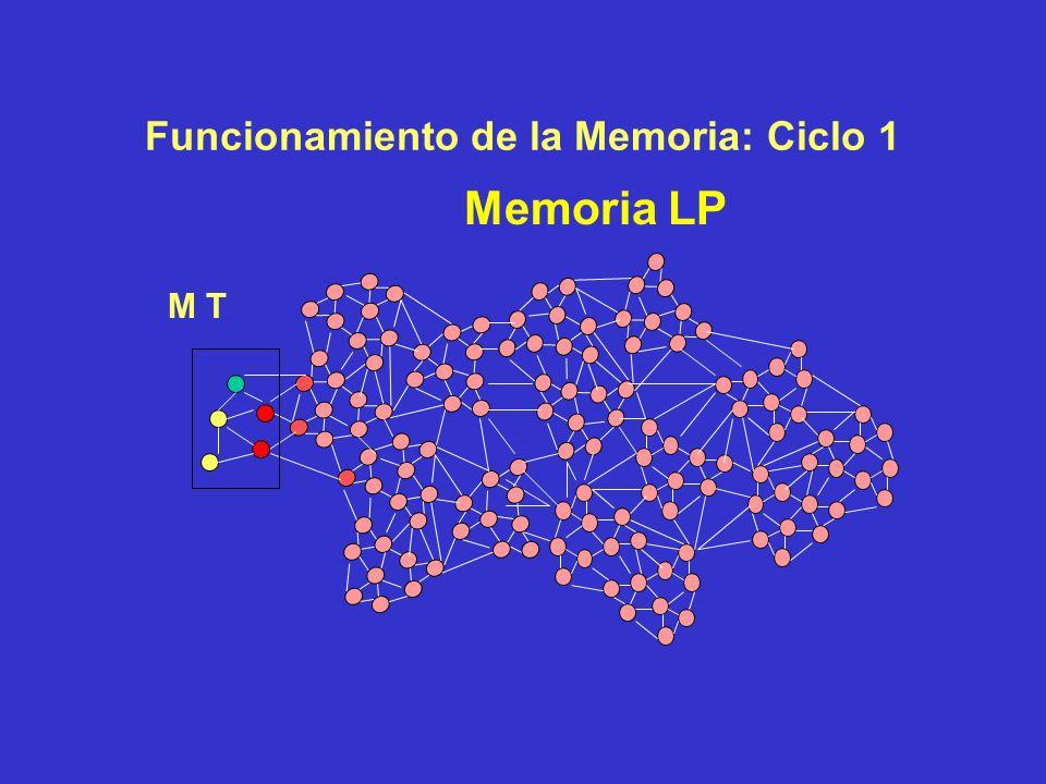Funcionamiento de la Memoria Memoria LP