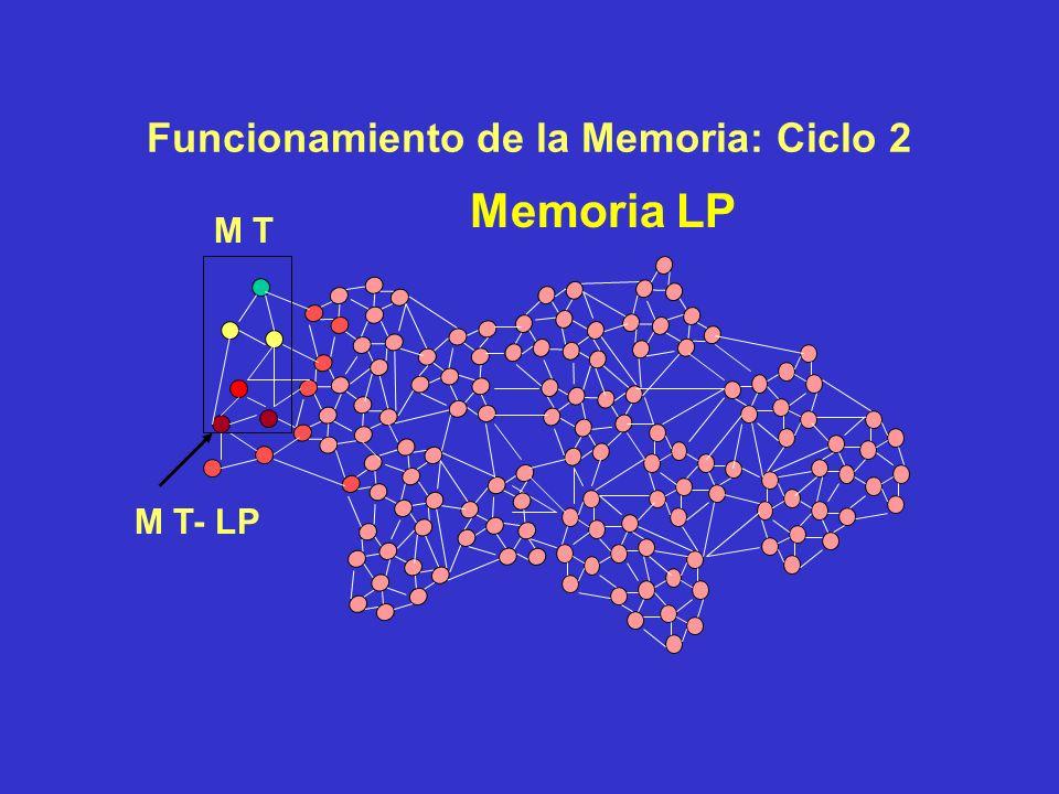 Funcionamiento de la Memoria: Tras Ciclo 1 Memoria LP