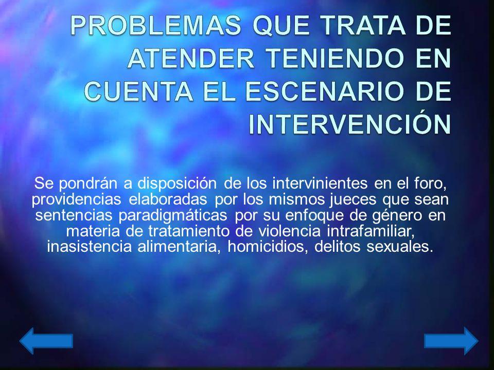 Obtener un mínimo de veinticinco providencias de jueces y juezas del departamento de Antioquia, en las diferentes áreas, que aborden, de manera expresa, un problema derivado de la desigualdad de género o por violencia contra la mujer.