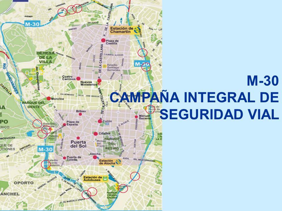 M-30 CAMPAÑA INTEGRAL DE SEGURIDAD VIAL