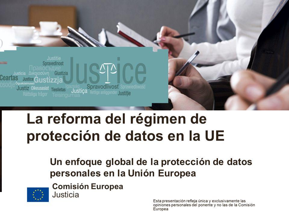 European Commission Justice Date | 2 Title of the presentation La protección de datos: un derecho fundamental en la UE