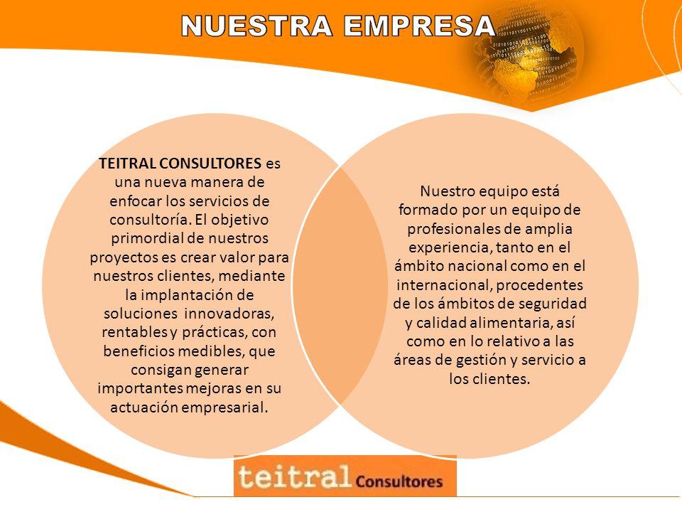 TEITRAL CONSULTORES es una nueva manera de enfocar los servicios de consultoría. El objetivo primordial de nuestros proyectos es crear valor para nues
