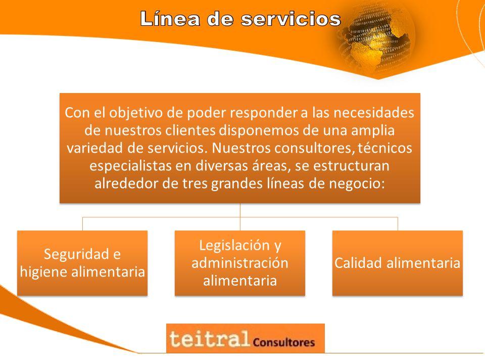 Con el objetivo de poder responder a las necesidades de nuestros clientes disponemos de una amplia variedad de servicios. Nuestros consultores, técnic