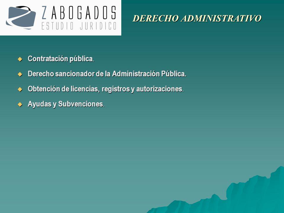 Contratación pública. Contratación pública. Derecho sancionador de la Administración Pública. Derecho sancionador de la Administración Pública. Obtenc
