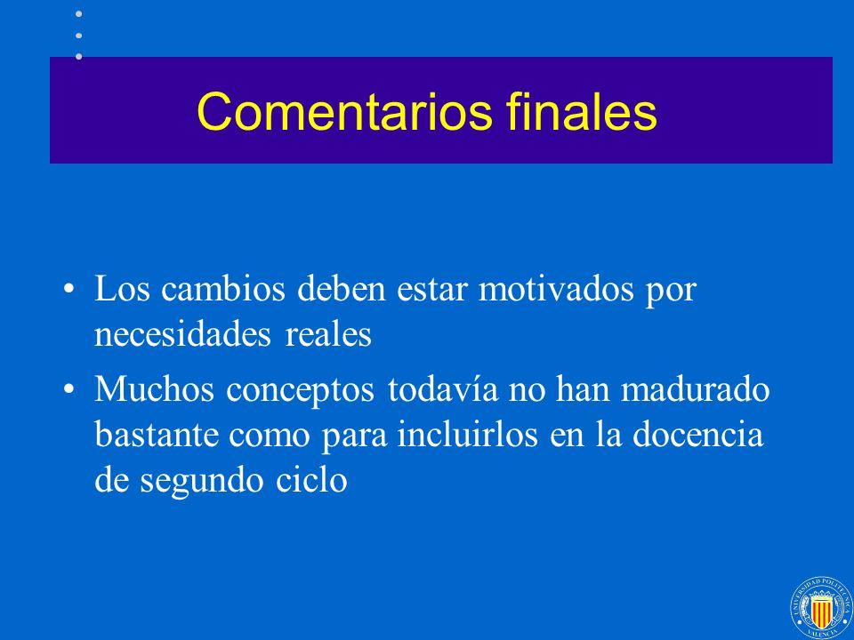 La docencia y las nuevas tendencias en el campo de los Sistemas Distribuidos José Duato Murcia, 14 de Septiembre de 1999 GRUPO DE ARQUITECTURAS PARALELAS X Jornadas de Paralelismo