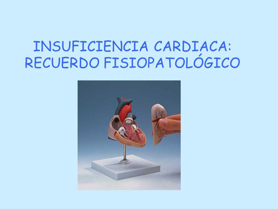 INSUFICIENCIA CARDIACA: RECUERDO FISIOPATOLÓGICO