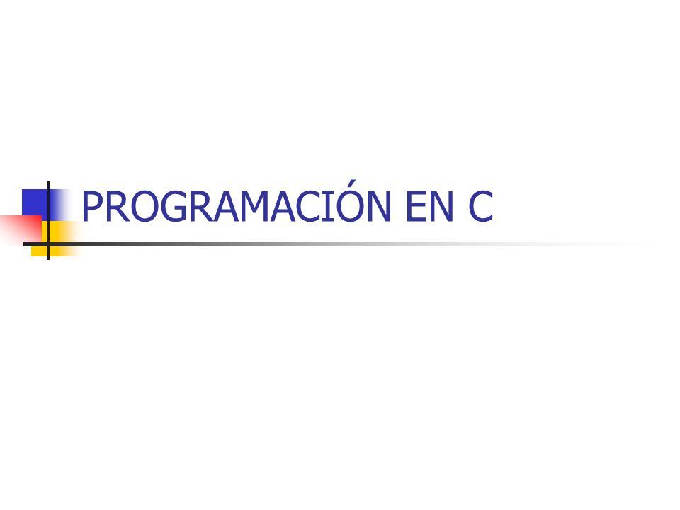SEPARADORES En C se consideran separadores: Tabuladores.