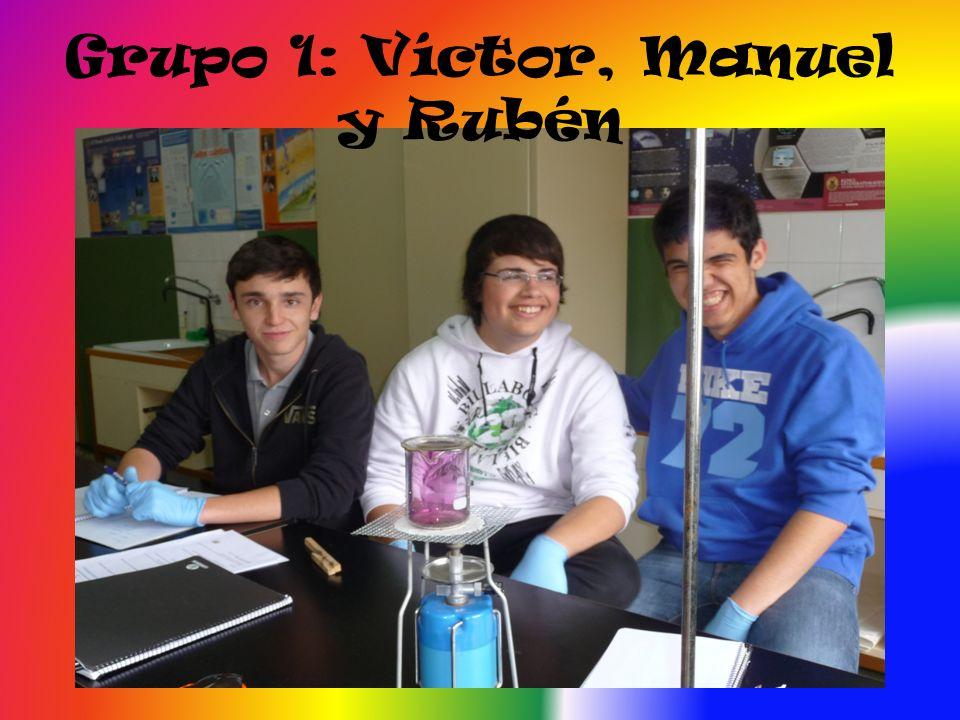 Grupo 1: Víctor, Manuel y Rubén