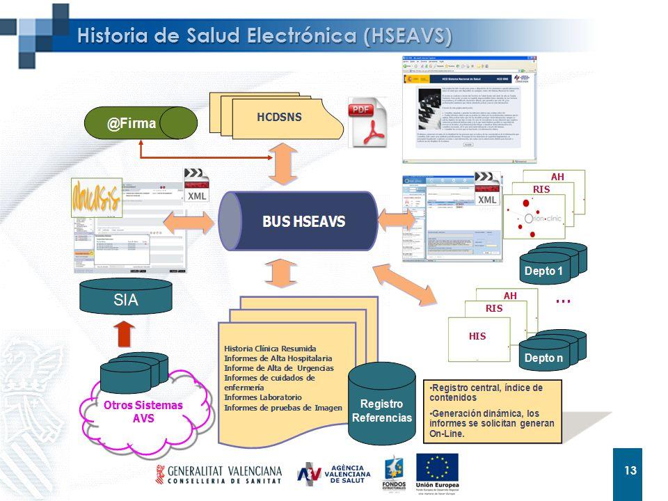 13 Historia de Salud Electrónica (HSEAVS)
