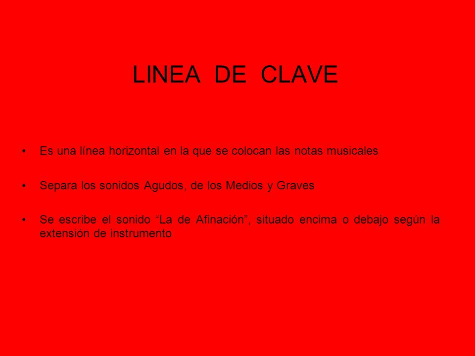 LINEA DE CLAVE 440 880 Vibr 22o vibr.