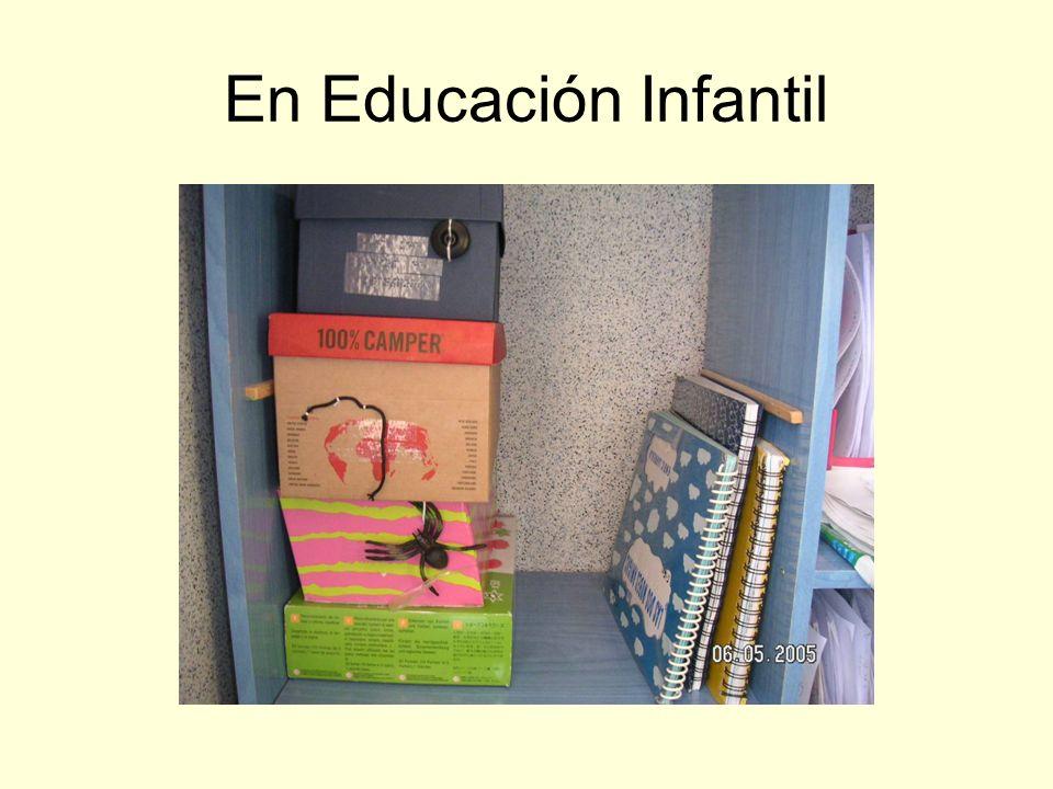 En Educación Infantil