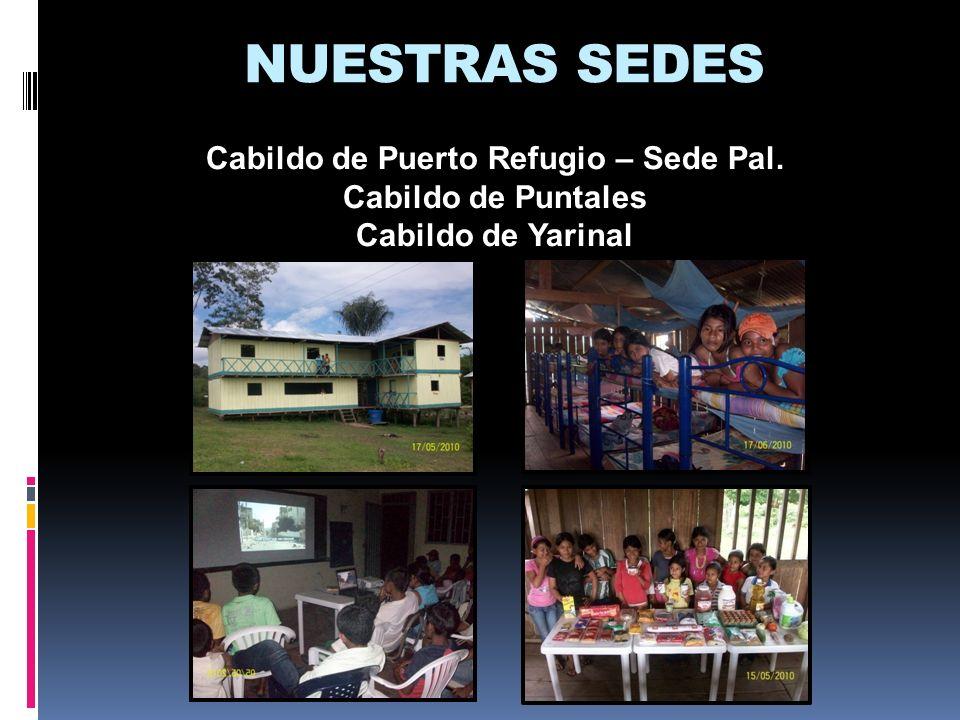NUESTRAS SEDES Cabildo de Puerto Refugio – Sede Pal. Cabildo de Puntales Cabildo de Yarinal