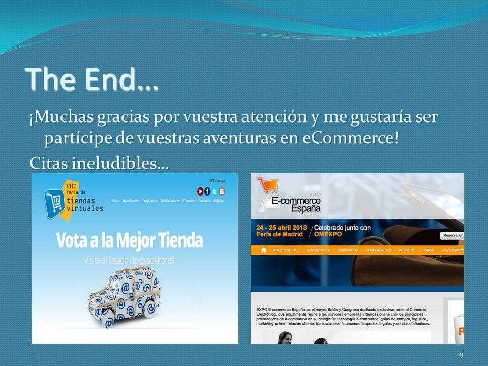 Yolanda Ariño Solanas Emprendedora y Asesora de Tiendas Online yolanda@sostiendaonline.es 10