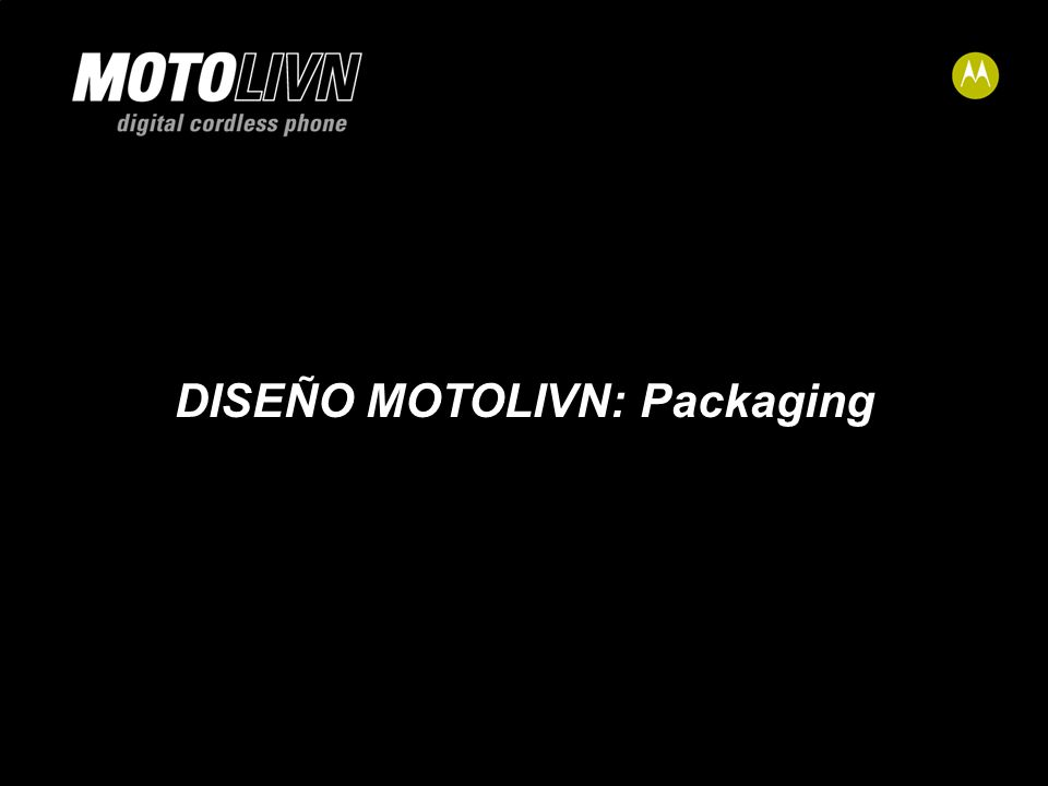 v DISEÑO MOTOLIVN: Packaging