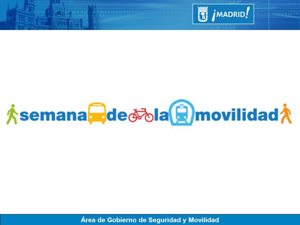 SEMANA EUROPEA DE LA MOVILIDAD.El Ayuntamiento de Madrid se suma a la campaña de la Unión Europea para celebrar la SEMANA EUROPEA DE LA MOVILIDAD.