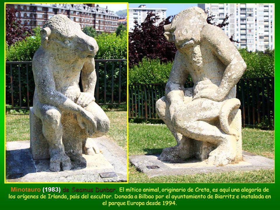 (1983) de Seamus Dunbar. Minotauro (1983) de Seamus Dunbar. El mítico animal, originario de Creta, es aquí una alegoría de los orígenes de Irlanda, pa
