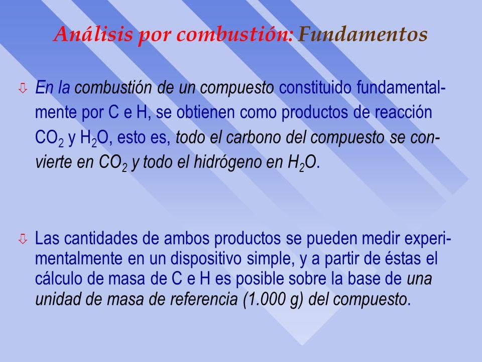 Fórmula empírica: Ejercicios ò Una muestra de 5.325 g de benzoato de metilo, compuesto que se utiliza en la manufactura de perfumes, contiene 3.758 g