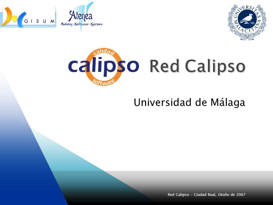 Red Calipso - Ciudad Real, Otoño de 2007(2) Universidad Castilla-La Mancha Universidad de Murcia Empresa Procedimientos Uno