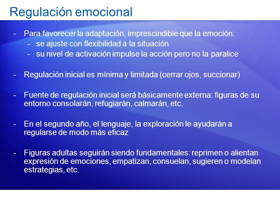 Las emociones van de la mano de otros avances evolutivos: El apego o vinculación con otras personas.