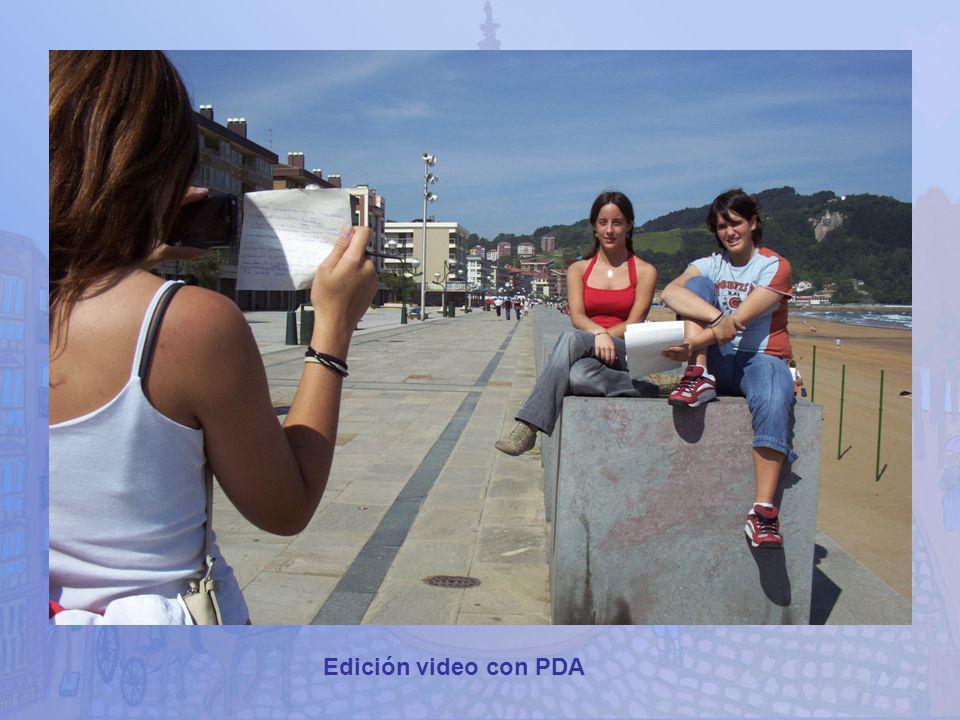 Edición video con PDA