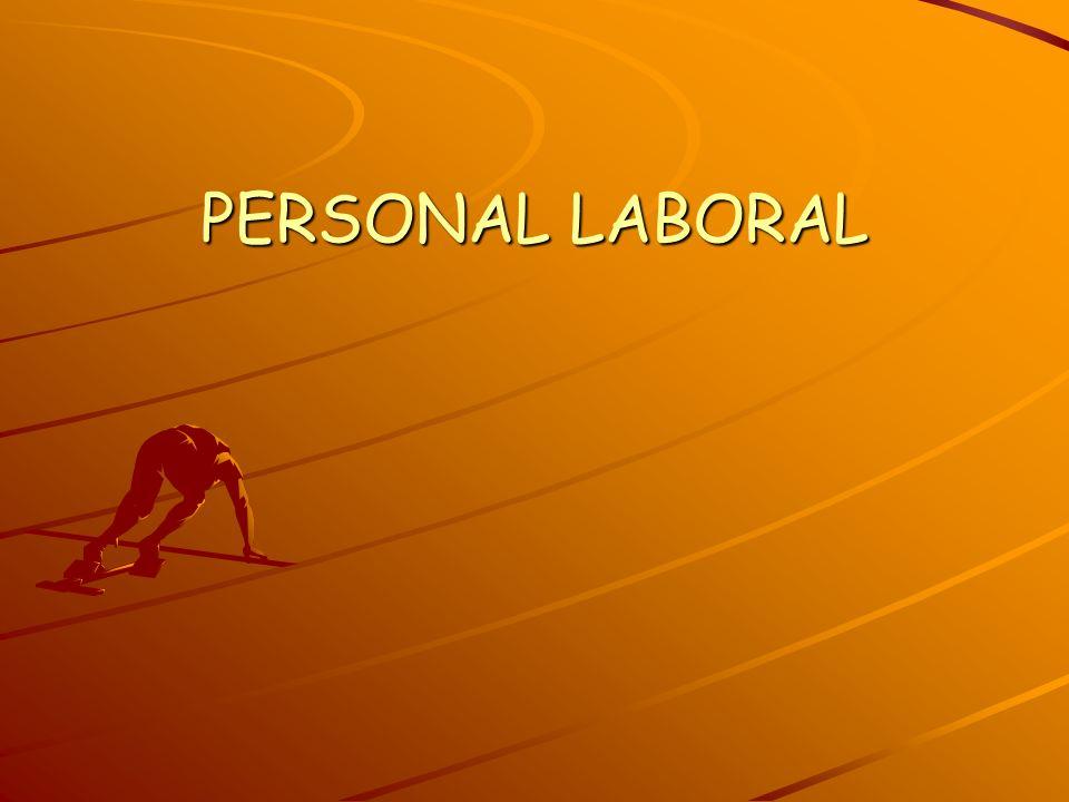 PERSONAL LABORAL