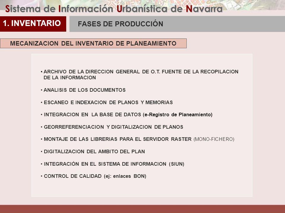 Sistema de Información Urbanística de Navarra REFUNDIDO Cambio de PM en base a Modificaciónes Incidencias catastrales Errores de contenido Errores topológicos QC ALMACÉN PLANEAMIENTO REFUNDIDO: CONTROL Y DEPURACIÓN DE ERRORES 2.
