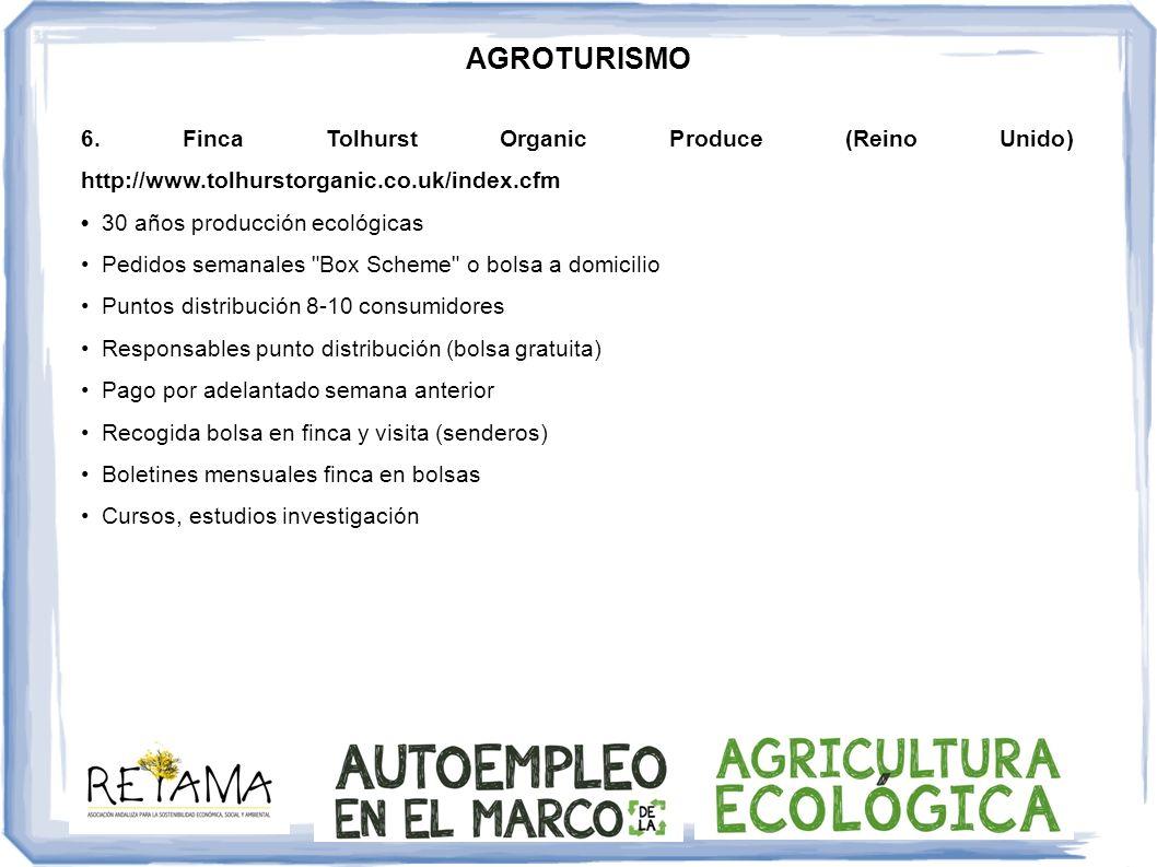AGROTURISMO 7.Biocoop S.C.G.