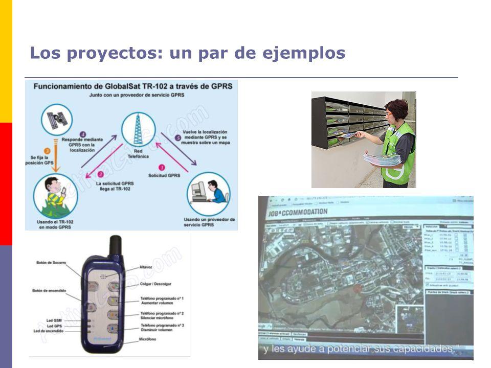 Los proyectos: un par de ejemplos